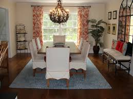 Dining Room Curtain Ideas Casual Dining Room Curtain Ideas Rectangle Black Wood Table Rustic