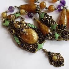 art glass necklace pendant images 11 best czech vintage jewelry images antique jpg