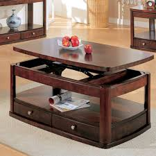 table entrancing acme furniture docila walnut coffee table with