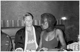 dolph lundgren and grace jones lipstick alley