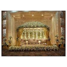 wedding stage decoration service and marriage decoration for