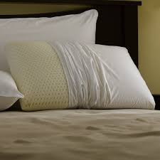 bed pillows amazon com pacific coast feather restful nights even form latex