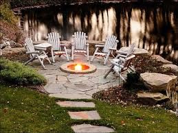 outdoor awesome stone fire pit designs building a backyard fire