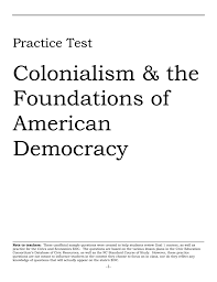 colonialism u0026 the foundations of american democracy
