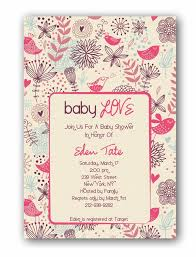 templates baby shower invitations for girls butterflies for baby