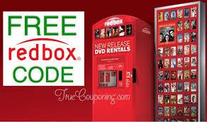 free three redbox codes