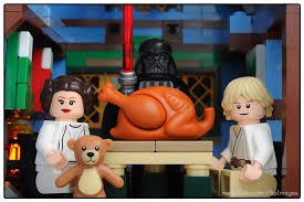 skywalker family lego thanksgiving by diginik13