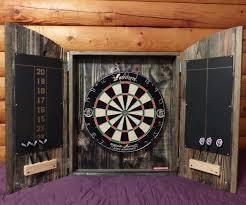 best dart board cabinet cabinet from pallets
