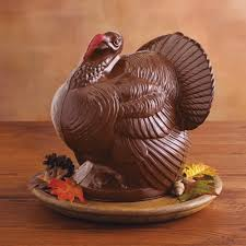 thanksgiving candy molds giant chocolate turkey thanksgiving centerpiece the green head