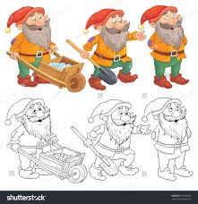 snow white dwarfs fairy tale stock illustration 567203065