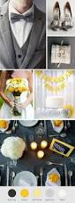 yellow and gray themed wedding yellow and grey wedding