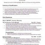 Sap Project Manager Resume Sample Sap Project Manager Resume Sample Job Description Career