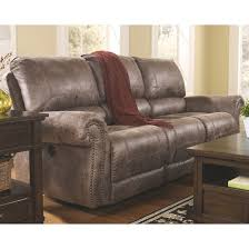 oberson reclining sofa gunsmoke signature design by ashley target