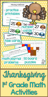Thanksgiving Math 82 Best Miss First Grade U0027s Products Images On Pinterest First