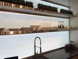 modern kitchen design using eluma decopanel illuminated
