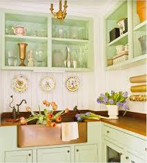 kitchen paneling ideas pastel green kitchen cabinet with white wall paneling ideas for