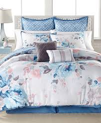 Bed In A Bag King Comforter Sets Closeout Lucia 8 Pc Reversible Comforter Set Created For Macy U0027s