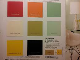 60 30 10 ratio of colors from lows olympic paint red orange