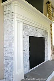 faux stone electric fireplace entertainment center diy fake 1940