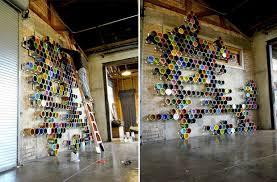 wand ideen event design ideen wand installation aus farbeimern eveosblog de