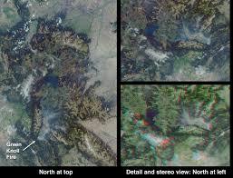 Jackson Hole Map Smoke Over Jackson Hole Wyoming Image Of The Day