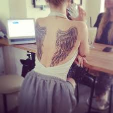 Wing Back Tattoos For - wing tattoos 125 wing tattoos that are heavenly