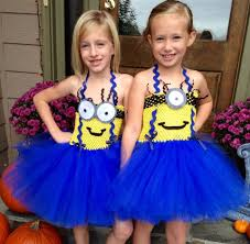 despicable me minion tutu costume kids u0027 group halloween costume