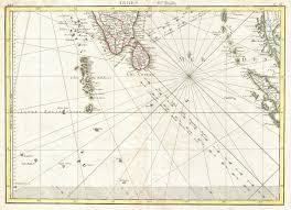 Indian Ocean Map File 1770 Bonne Map Of Southern India Sri Lanka Ceylon The