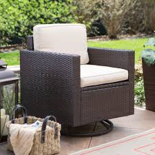 Dark Brown Wicker Patio Furniture by Enchanting Outdoor Living Patio Furniture Design With White