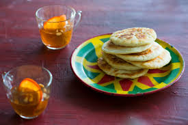 sweet pancake with persimmon punch hotteok with sujeonggwa