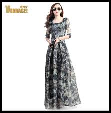 print silk maxi dress picture more detailed picture about plus