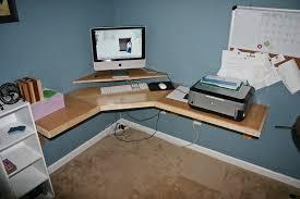 Corner Desk For Computer Magnificent Make A Corner Desk 19 Audioequipos