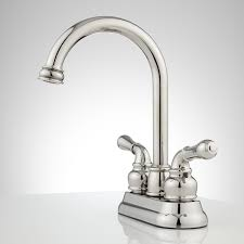 Gooseneck Faucet Kitchen by Brannigan Centerset Gooseneck Bathroom Faucet Bathroom