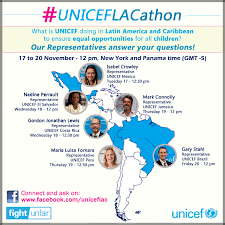 justice quote in latin unicef reps in latin america and the caribbean answer questions at