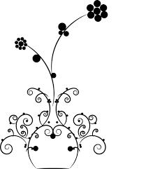 free illustration flower vase decor decoration free image on