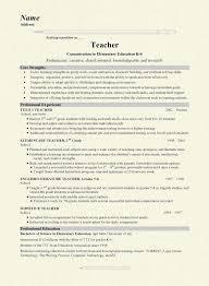 model of resume samples of resume for teachers stupefying new teacher resume 5