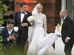 Wedding Dress Man Nicky Hilton Wedding Heiress Weds James Rothschild In Valentino