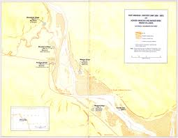 Map Of Missouri River National Park Service Lewis And Clark Survey Of Historic Sites
