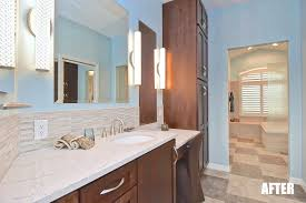 master bathroom suites the second and smaller vanity was also