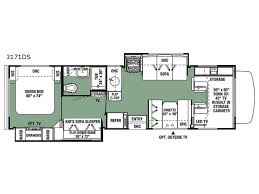 c trailer floor plans rear living travel trailer floor plans new forester motor home class
