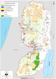 Map Of Israel And Palestine Economic Prison Zones U0027 Exploit Palestinian Labor Create