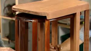 How To Build End Tables by How To Build Nesting Side Tables Youtube