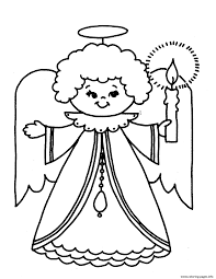 kids free s for christmas angelc515 coloring pages printable