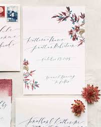 watercolor wedding invitations the loveliest watercolor wedding invitations martha stewart weddings
