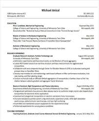 Graduate Mechanical Engineer Resume Sample by Resume Sample Engineering Graduate 96 Sample Resume Career