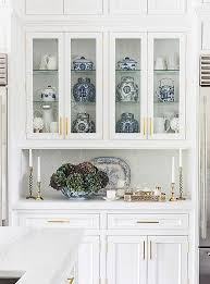 China Cabinet In Kitchen Inside Sue De Chiara S Gorgeous Connecticut Home That S On