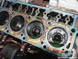what are the symptoms of a blown head gasket bluedevil products