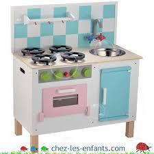 cuisine bebe jouet cuisine de luxe en bois pastel dans la hotte frigo