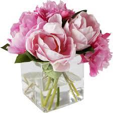 faux peonies salisbury manus tabletop floral arrangements faux pink peonies