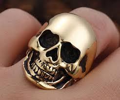 steel skull rings images Classical stainless steel skull rings jpg